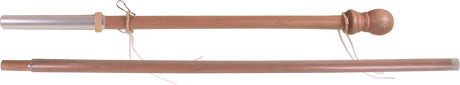 60 in. 2-Pc. Wood Flag Pole