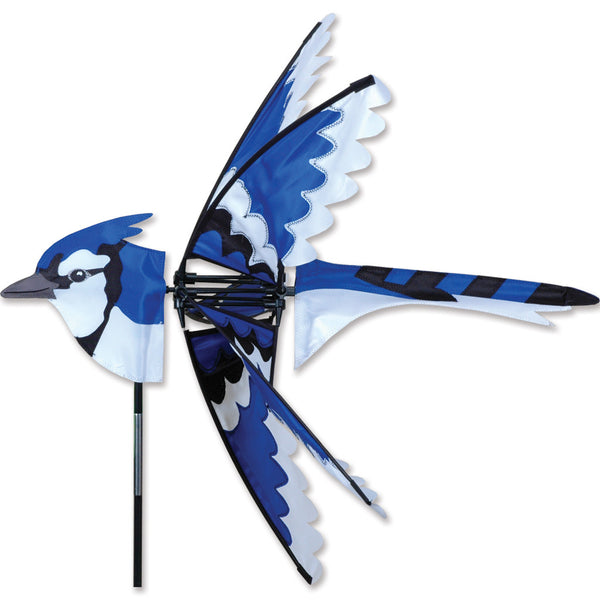 25 in. Eastern Blue Jay Spinner