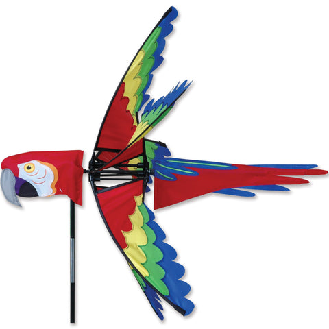27 in. Scarlet Macaw Spinner