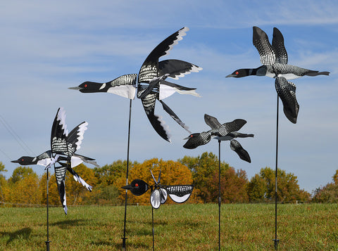 19 in. WhirliGig Spinner - Loon