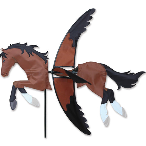 27 in. Bay Horse Spinner