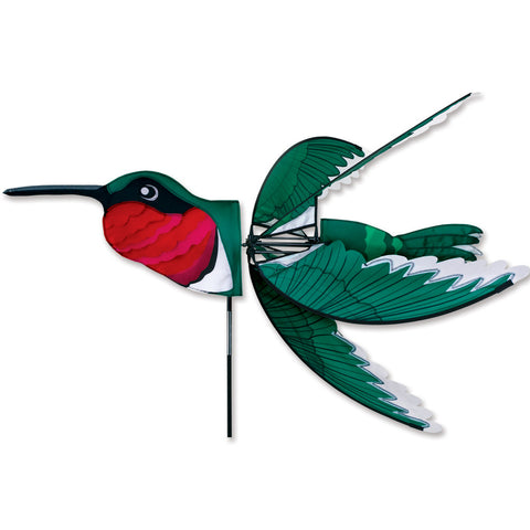 37 in. Ruby Throat Hummingbird Spinner