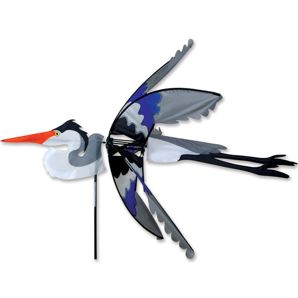 42 in. Flying Great Blue Heron Spinner