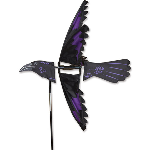 24 in. Raven Bird Spinner