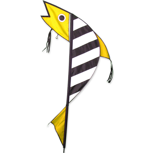 Jingle Fish Banner - Yellow