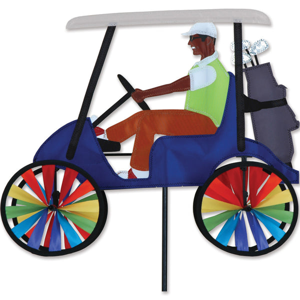 17 in. Golf Cart Spinner - Blue