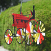 29 in. Old Tractor Spinner - Red