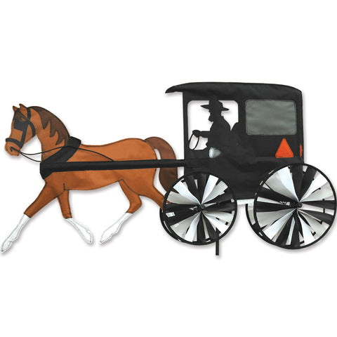 37 in. Horse & Buggy Spinner