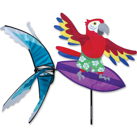 Surfing Parrot Spinner
