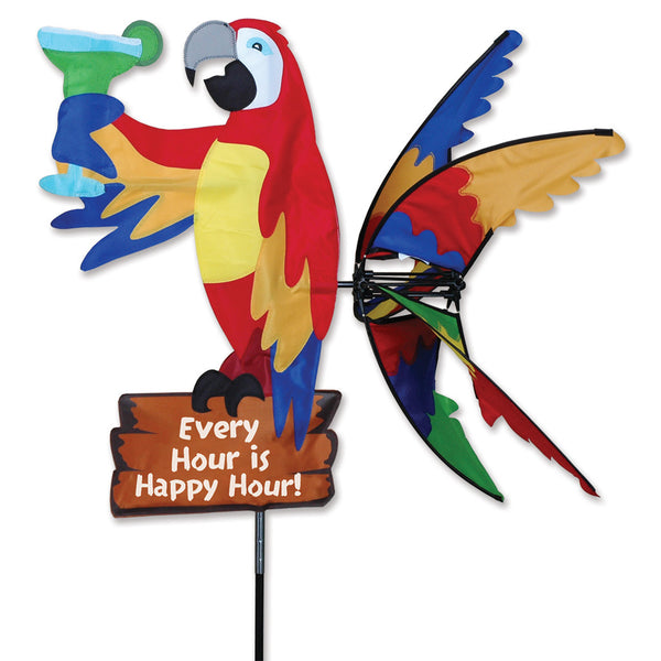 33 in. Island Parrot Spinner - Happy Hour