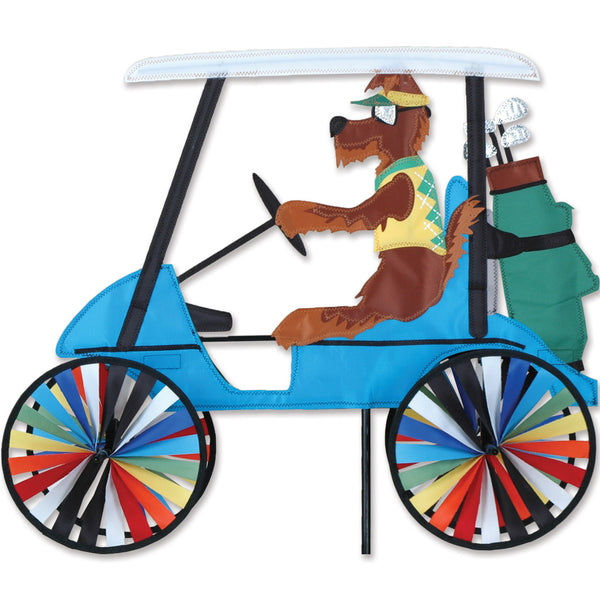 23 in. Golf Cart Spinner - Dog