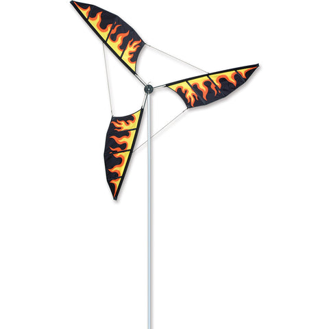6.5 Ft Wind Generator - Flames