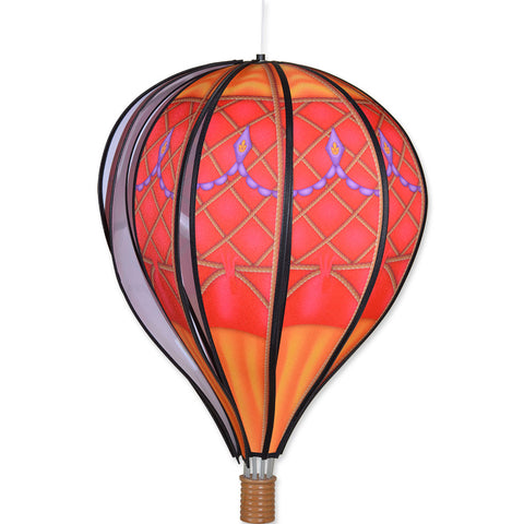 22 in. Hot Air Balloon - Red Vintage