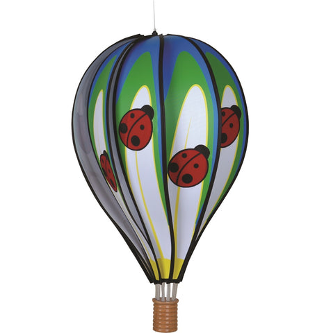 22 in. Hot Air Balloon - Ladybug
