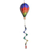 12 in. Hot Air Balloon - Chevron Rainbow