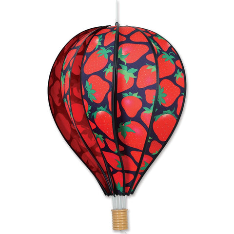 22 in. Hot Air Balloon - Strawberries