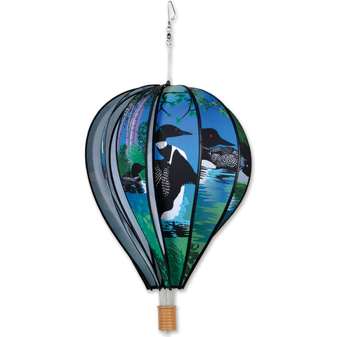 22 in. Hot Air Balloon - Loons