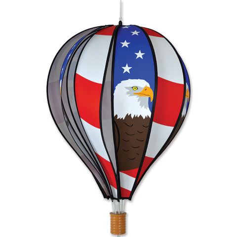 22 in. Hot Air Balloon - Patriotic Eagle