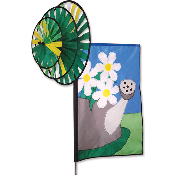 Triple Spin Banner - Summer Daisies