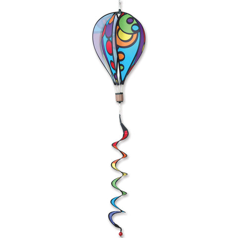 16 in. Hot Air Balloon - Rainbow Orbit