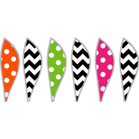 16 in. Hot Air Balloon - Chevron