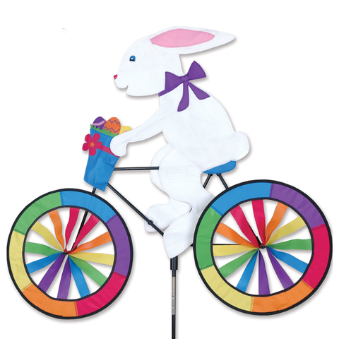 30 in. Bike Spinner - Easter Bunny