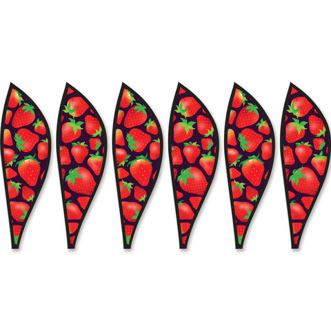 16 in. Hot Air Balloon - Strawberries Panels