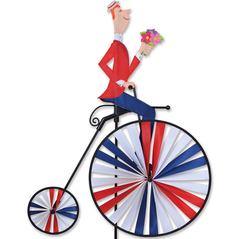 High Wheel Bike Spinner - Man