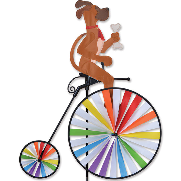 High Wheel Bike Spinner - Dog