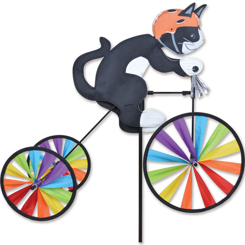 Tricycle Spinner - 19 in. Tuxedo Cat