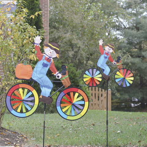 30 in. Bike Spinner - Scarecrow
