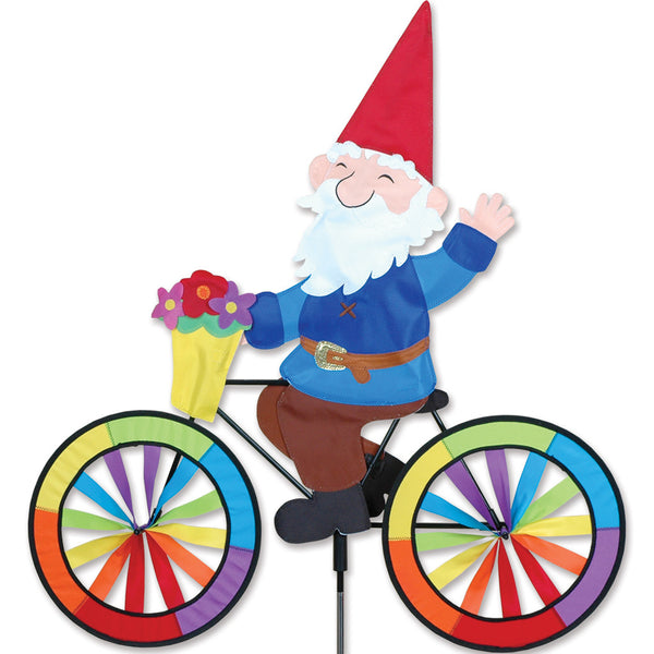 30 in. Bike Spinner - Gnome