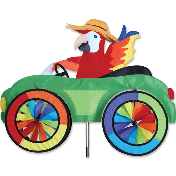 25 in. Car Spinner - Parrot