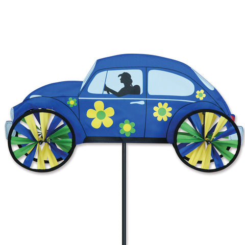 22 in. Hippie Mobile Spinner - Blue