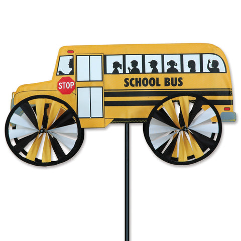 18 in. School Bus Spinner