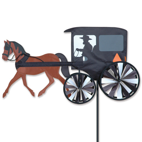 26 in. Horse & Buggy Spinner