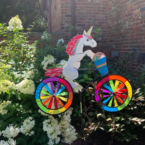 30 in. Bike Spinner - Unicorn