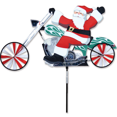 28 in. Chopper Spinner - Santa
