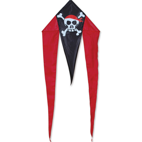 Mini Flo-tail Kite - Skull & Crossbones