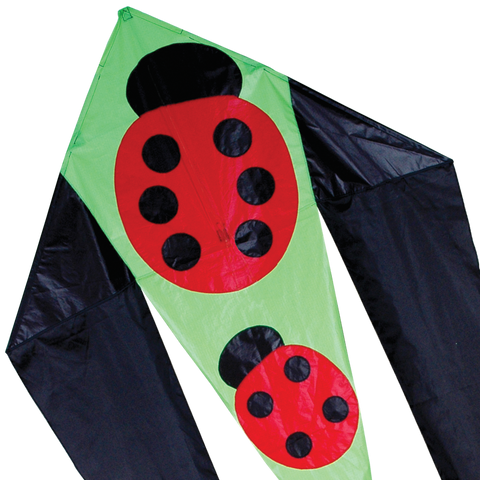 45 in. Flo-tail Kite - Ladybugs