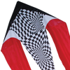 45 in. Flo-tail Kite - Red Opt-Art