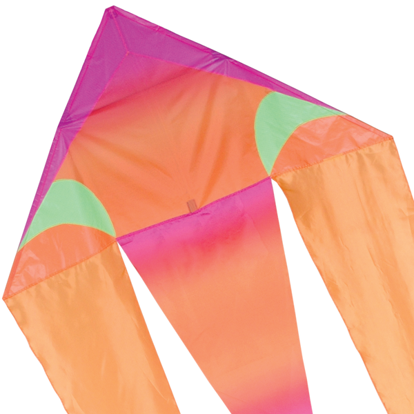 45 in. Flo-tail Kite - Pink Gradient