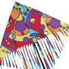 48 in. Fringe Delta Kite - Orbit
