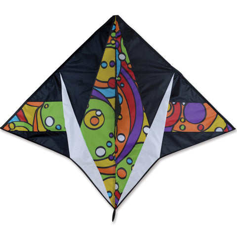 Gyro Delta Kite - Rainbow Orbit