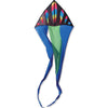 56 in. Flo-tail Delta Kite - Wavy Bullets