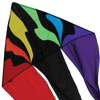 56 in. Flo-tail Delta Kite - Rainbow