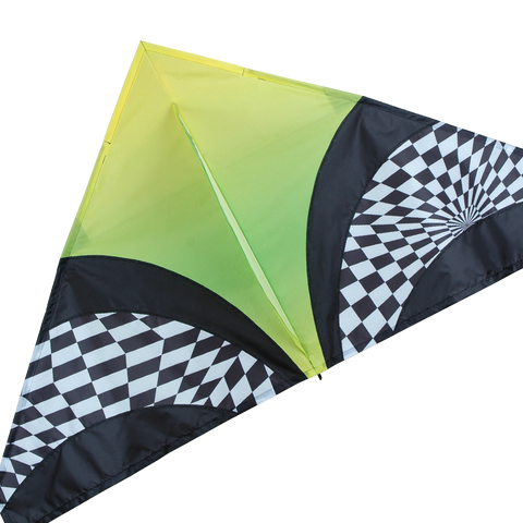 56 in. Delta Kite - Green Opt Art