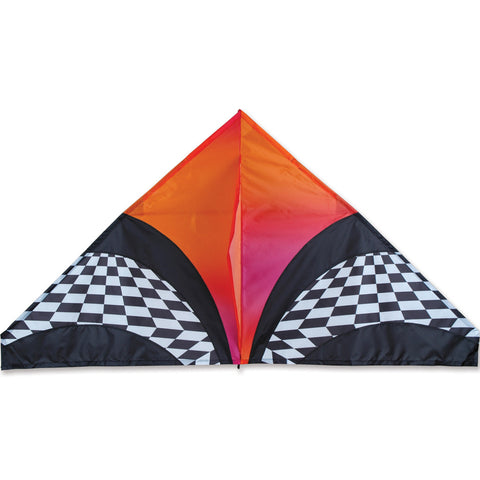 56 in. Delta Kite - Orange Opt Art