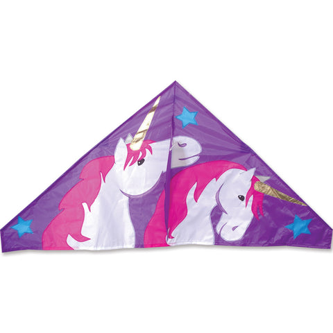 56 in. Delta Kite - Unicorn