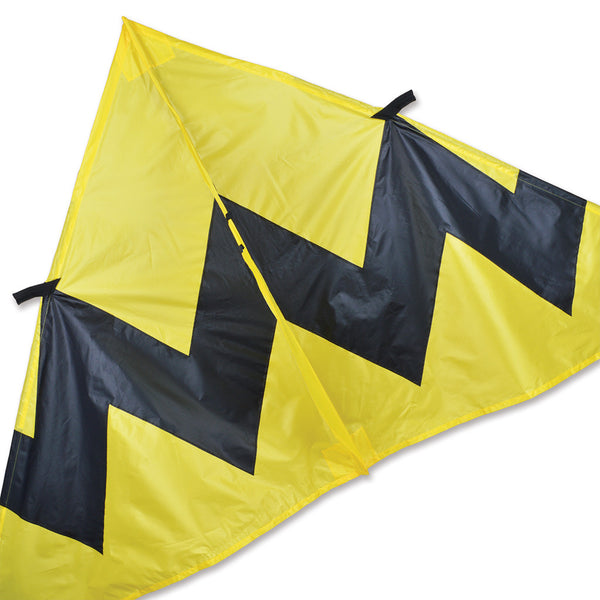 9 ft. Delta Kite - Yellow Chevron